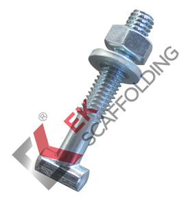 ኤሌክትሮ Galvanized T-Bolt Nut Washer Scaffolding መለዋወጫዎች